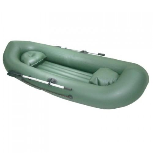 Лодка пвх мнёв и к catfish 270, цв серый, в комплекте вёсла, насос, ремкомплект
